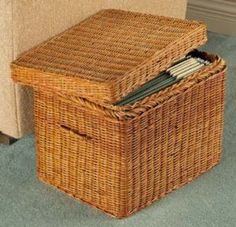 wicker basket from ebay. sewing basket?