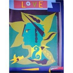 YSL 1995 Love Poster