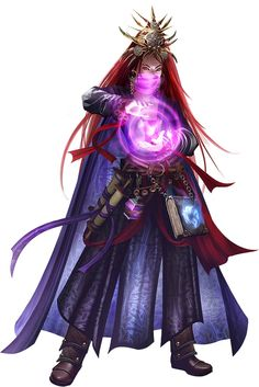 Warlock Illustration by Tomasz Chistowski for Pathfinder Roleplaying Game: Ultimate Intrigue by Paizo Publishing