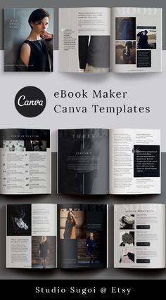 Online Graphic Design, Graphic Design Tools, Graphic Design Templates, Design Design, Print Design, Magazine Layout Design, Magazine Layouts, Magazine Design Inspiration, Magazine Cover Design