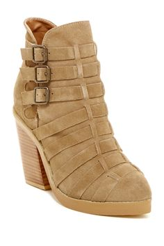 Jorline Multi Strap Bootie by NYLA on @nordstrom_rack