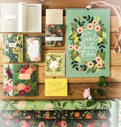 Everything Rifle Paper Co. Especially hand drawn flowers and the distinct nature of their brand. Everything Rifle Paper Co. Especially hand drawn flowers and the distinct nature of their brand. Cute Stationary, Stationary Design, Wedding Planner Office, Illustration Photo, Map Illustrations, Rifle Paper Company, Motifs Textiles, Motif Floral, Pen And Paper