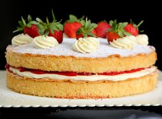 Cake baked in 2014 To us Malaysians, sponge cake will be soft, cottony and airy with not much oil in the cake..but this cake will resembl...