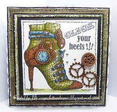 Crafty Urchins: Stampendous Click Heels.
