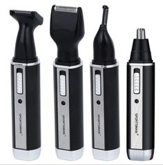 4 in 1 man grooming kit electric nose hair trimmer beard shaver eyebrow clipper all in one sideburns hair clipper cutter 220v   #Affiliate