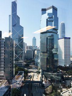 hong kong skyscrapers. #mytinyhorizon #skyscrapermaniac