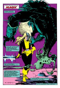 1984-1985: The New Mutants #21-23 Color: Glynis Wein