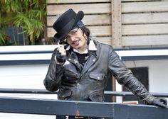 Adam Ant Outside ITV Studios Feb.13,2014