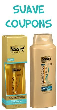 Suave Professionals Moroccan Infusion Coupons: 2.00 off 2!  #shampoo #stylers