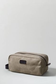 Waxed Canvas Travel Kit from Lands' End