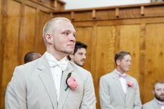Every woman's dream. The picture of her tearing up groom as she walks down the aisle.