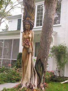 Tree Stump Art | Photos of the Week: Tree Stump Art | Hike Bike Travel