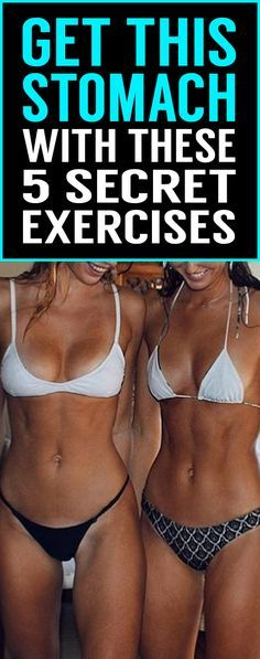 Dreamed of having a flat and toned tummy like this? You're in the right place! 5 fitness expert exercises that will boost your bodies fat burning and, at the same time, will tone and flatten your stomach.