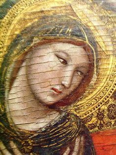 Vitale da Bologna, vierge du couronnement.