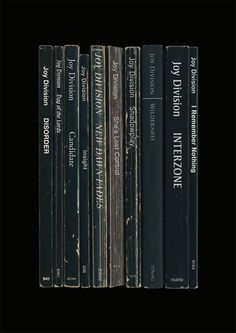 japanese-forms:  Joy Division: Unknown Pleasures as a set of books. ©standard designs