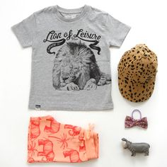 Lion of Leisure LOGO T @ Dutch webshop Springstof 'Pick of the Day' - http://springstof.eu/blog/pick-of-the-day-250614