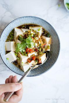 Cold Tofu (Liangban Tofu) – China Sichuan Food
