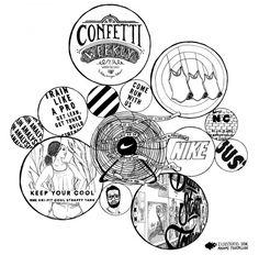 Confetti WEEKLY 23 week 21 - by Madame Fourmilion