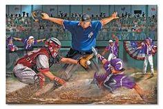 Close Call  _ Baseball