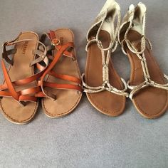 Sandal bundle 2 pairs for the price of one Old Navy Shoes Sandals