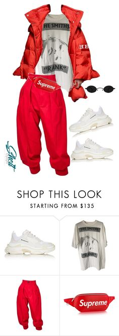 """Untitled #92"" by sheitbysylv ❤ liked on Polyvore featuring Balenciaga, Yves Saint Laurent and Louis Vuitton"