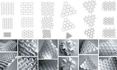 """""""Daniel Piker demonstrates numerous ways where paper is folded into deployable, transformable and bistable structures, and even auxetics and linkages""""."""