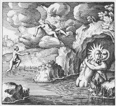 alchemy  | Michael Maier, Atalanta fugiens , Oppenheim, 1617-1618.