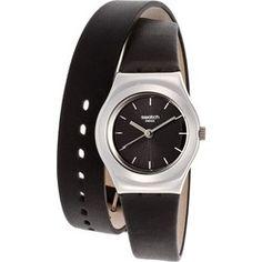 Montre Femme Swatch Black Russian YSS281 Double Bracelet