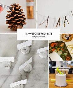 6 Weekend Projects to Try