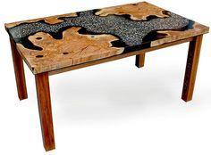 Randy Mugford Table concrete wood