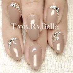 nails - Trois Rs Belle トロワールベル学芸大学のネイルデザイン[No Glam Nails, Fancy Nails, Bling Nails, Red Nails, Cute Nails, Simple Gel Nails, Make Up Braut, Crazy Nails, New Nail Art