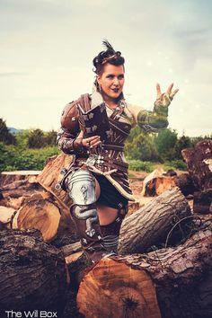Genderbent Dorian Pavus from Dragon Age: Inquisition Cosplay