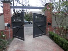 1000 Images About Driveway Gates On Pinterest Driveway