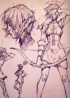 "nerdinski: "" Somewhere along the line, Sera became my favorite """