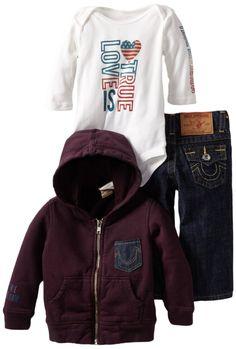Baby True Religion True Religion 3 Piece Gift Set For