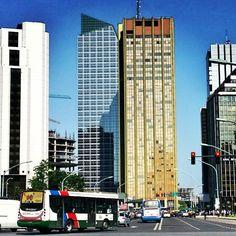 Torre Bank Boston en Buenos Aires , Argentina.