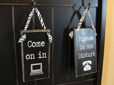 DO NOT Disturb ...Resident Works From Home or you're self employed ...
