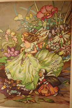 PEGS FAIRY BOOK  by Peg Maltby Third Edition by TriBecasVintage
