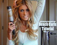 Beach Curls Video Tutorial.