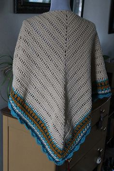 "Ravelry: CorrineMB's ""It's Snowing...Again"" Sunday Shawl--pattern is ""Sunday Shawl"""