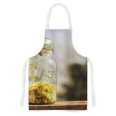KESS InHouse Jar of Sunshine by Angie Turner Country Artistic Apron