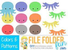 life skills file folder games - Google Search