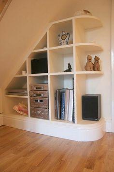 Simple Under Stair Storage Ideas ~ http://lanewstalk.com/smart-decoration-with-under-stair-storage/