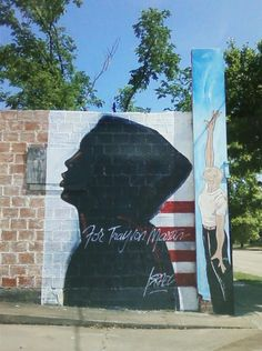 """For Trayvon Martin"" mural by ""Israel"" in Third Ward Houston. Photo taken by Jenni Mueller"