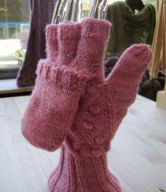 knit fingerless gloves, easy patterns, Christmas gifts, handmade