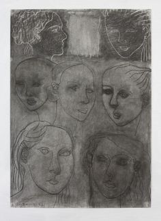GERRY KEON: Artist - CHARCOAL DREAMS