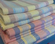 Ravelry: haydenhand's Ombre-stripe towels