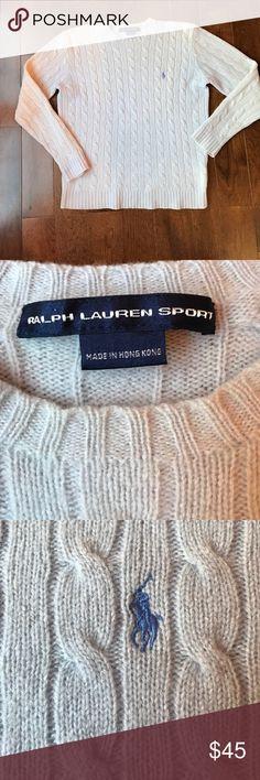 Ralph Lauren 100% Lambswool Classic Sweater Pale blue. Excellent condition - like new. Ralph Lauren Sweaters