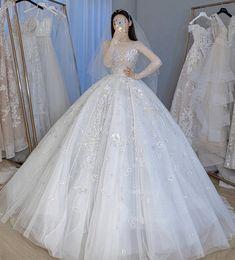 Fancy Wedding Dresses, Pretty Quinceanera Dresses, Pretty Prom Dresses, Princess Wedding Dresses, Ball Dresses, Beautiful Dresses, Wedding Gowns, Fairytale Dress, Fairy Dress