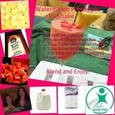 Watermelon Pineapple Vi-Shake by earline
